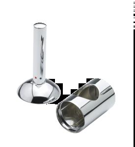 Arc Rączka mieszacza i nakładka na końcówkę wylewki baterii kuchennej, umywalkowej i bidetowej