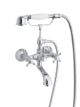 Damixa Tradition bath shower mixer in chrome