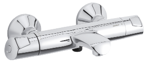 Rowan Thermixa 400 thermostatische bad/douchemengkraan