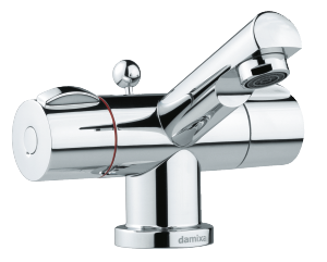 Titan Basin Mixer with pop up waste