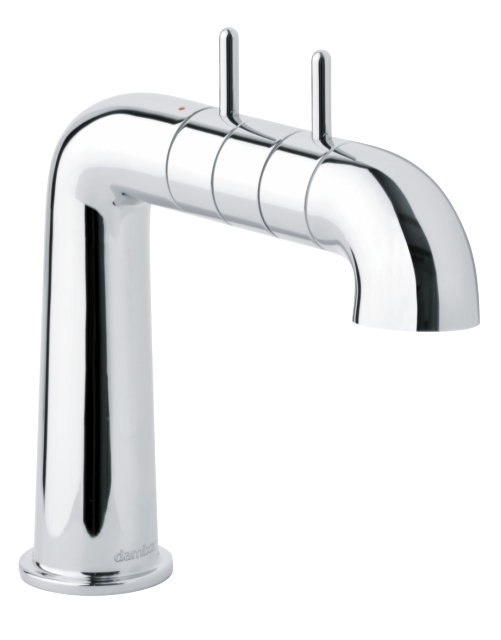 2-grip basin mixer in chrome