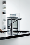 One-grip Arc mixer for the kitchen