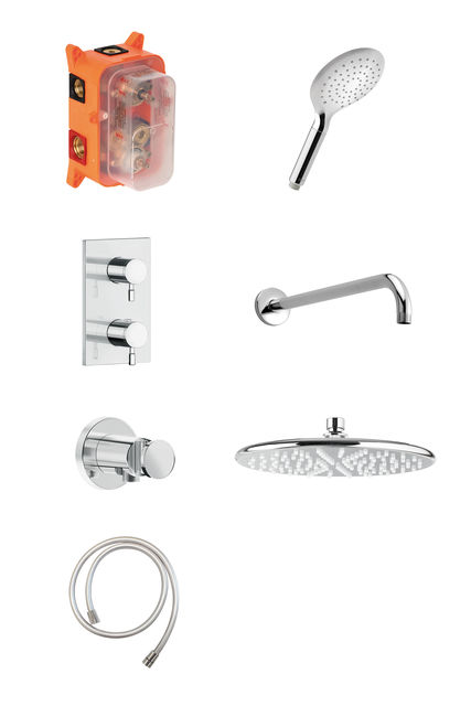 HS 1 - Complete concealed shower system