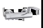 Damixa Arc bath shower mixer in chrome