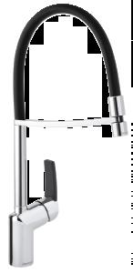 Slate Pro Kitchen Mixer (Chrome/Black)