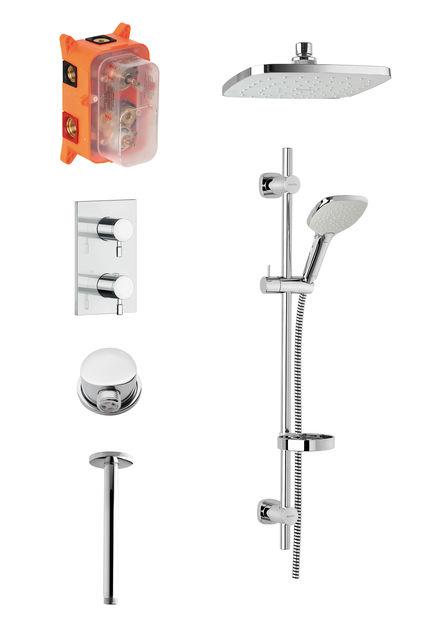 SR 2 - Inbouw compleet douche thermostaat systeem