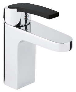 Slate Basin Mixer (Chrome/Black)
