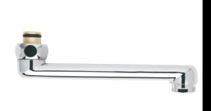 Badkameraccessoires Draaibare uitloop 150 mm