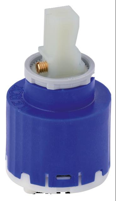 Ceramic cartridge (most one-grip mixers)