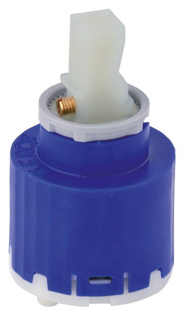 Ceramic cartridge (most one-grip mixers)