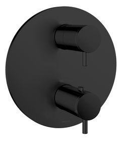 Armatura podtynkowa Rozeta maskująca podtynkowej baterii termostatycznej (Matowa czerń )