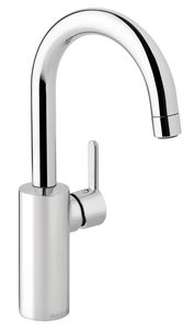 Silhouet Basin mixer with high spout
