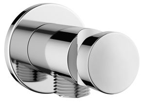 Shower Accessories Outlet elbow with shower holder
