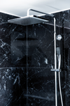 Damixa Slate is a top quality range of overhead shower, hand shower and the thermostat.