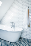 Picture of the danish designed Tradition bath shower mixer