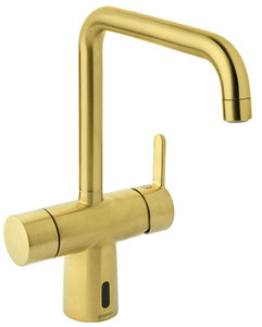 Silhouet Touchless kitchen tap (Brushed Brass PVD)