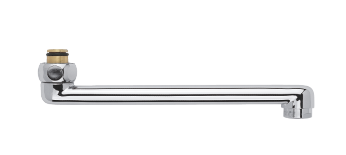 Draaibare uitloop 200 mm
