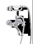 Damixa Tradition bath shower mixer in chrome