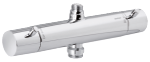 2-grip thermostatic mixer in chrome